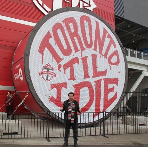 Toronto FC Drum 002